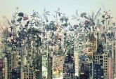Flowers and Textures (Imagine 2) poszter - Urban Jungle