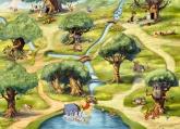 Disney-Marvel Edition 2 poszter - Micimackó - Hundertmorgenwald