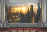 Disney-Marvel Edition 2 poszter - Star Wars Coruscant View