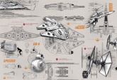 Disney-Marvel Edition 2 poszter - Star Wars Blueprints